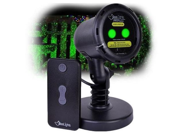 BlissLights Outdoor/Indoor Spright Firefly Motion Green Laser Light -  Transform your Yard into an Oasis of Lights! - Newegg com