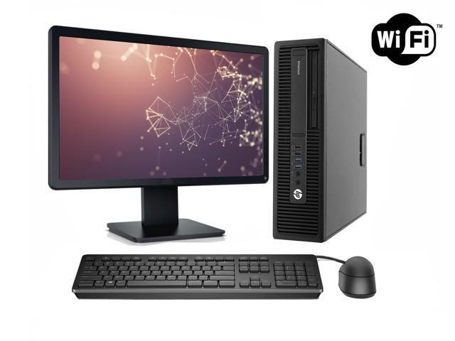 HP Desktop Computer Package 800 G1 8 GB Ram 500 GB Hard Drive Windows 10  Pro WiFi 19