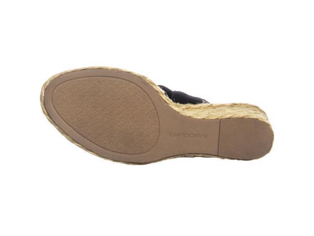 1d98c33b545 Bandolino Himeka Espadrilles Wedge Sandals, Black, 9.5 US - Newegg.com