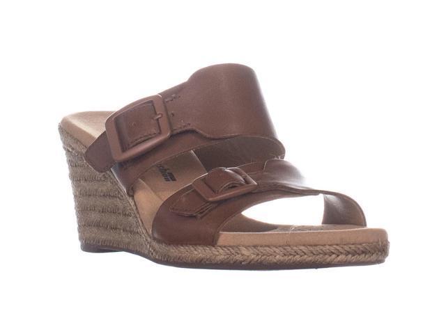 22639740384 Clarks Lafley Devin Wedge Espadrilles Sandals, Dark Tan Leather, 9 US / 40  EU - Newegg.ca