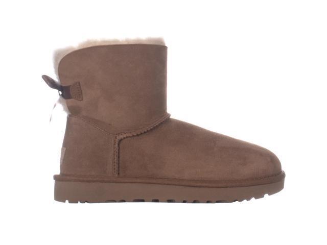 c200527a0bc UGG Australia Mini Bailey Bow II Winter Boots, Chestnut, 7 US / 38 EU -  Newegg.com