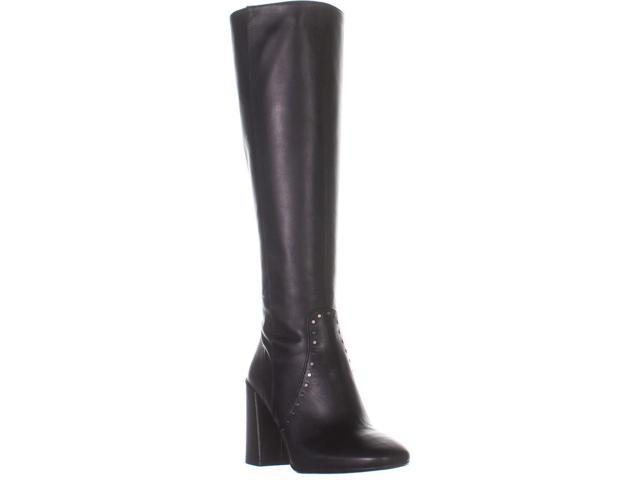 recognized brands new styles the best Coach Falon Knee High Block Heeled Boots , Black Leather, 7 US - Newegg.com