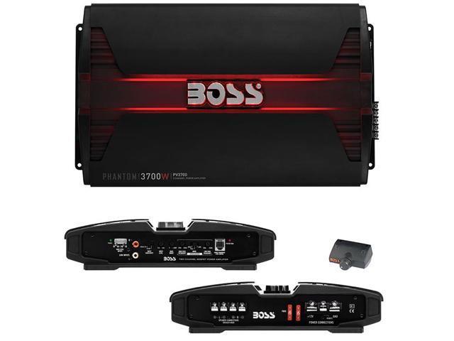 BOSS Audio PV3700 Phantom 3700W 5 Channel Full Range, Class A/B Amplifier -  Newegg com