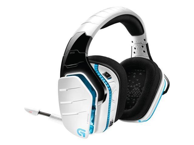 Logitech G933 Artemis Spectrum Wireless RGB 7 1 Dolby and DST Headphone  Surround Sound Gaming Headset - White - Newegg ca