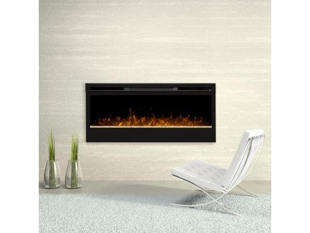 Awesome Dimplex Prism 50 Wall Mount Linear Electric Fireplace Insert In Black Newegg Com Interior Design Ideas Clesiryabchikinfo