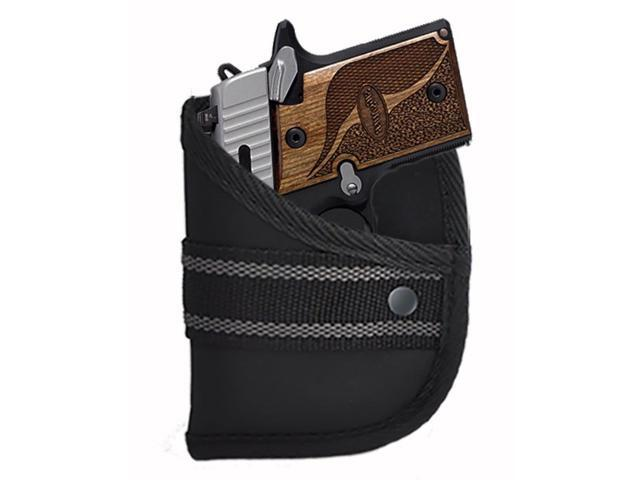 Custom Fit Woven Poly Pocket Holster Fits Sig Sauer P938 9mm With CTL (W2)  - Newegg com