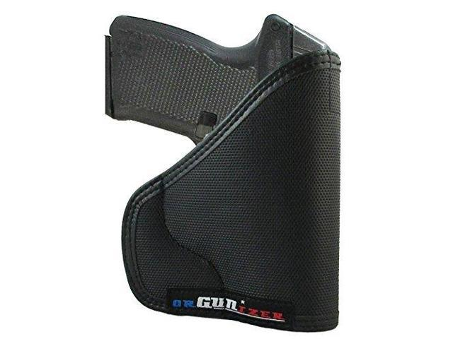 Custom Fit Leather-Trimmed Poly Pocket Holster Fits Kel-Tec P-11 (D) -  Newegg com