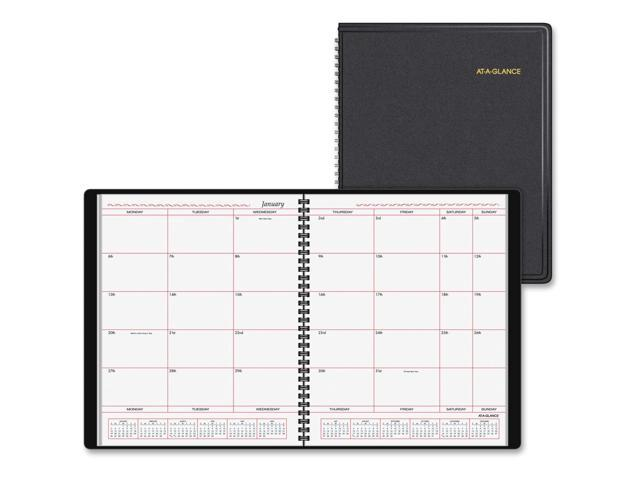 photograph regarding Week at a Glance Planner referred to as At-A-Look Regular Planner within Office 7 days Layout 10 x 8 White 2020 7013005 -