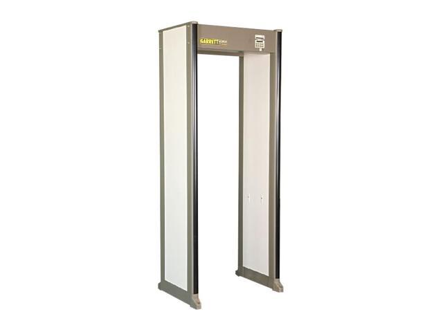 GARRETT METAL DETECTORS 1168411 Walk Through Metal Detector, 33 Zones,  Beige - Newegg com