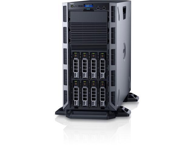 Dell PowerEdge T330 5U Tower Server - 1 x Intel Xeon E3-1240 v5 Quad-core  (4 Core) 3 50 GHz - Newegg com
