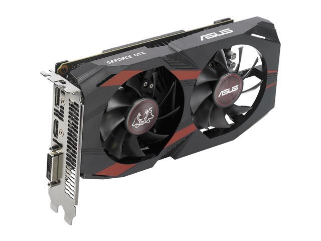 Asus Cerberus CERBERUS-GTX1050-O2G GeForce GTX 1050 Graphic Card - 1.43 GHz Core - 1.54 GHz Boost Clock - 2 GB GDDR5 - Dual Slot Space Required