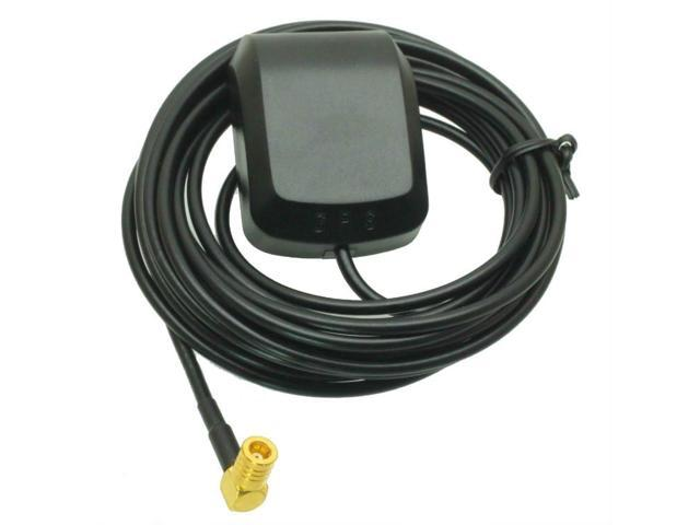 magnet GPS Active Antenna SMB female right angle 1575.42MHz 3-5V RG174 3M cable