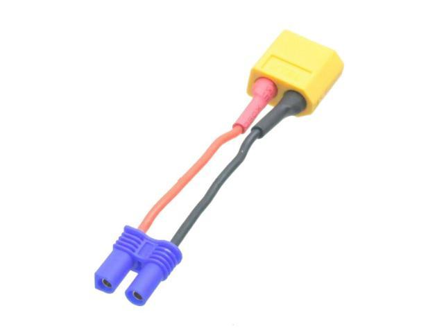 20awg Wire XT60 2 inches XT-60 Male To JST Adapter with 5CM