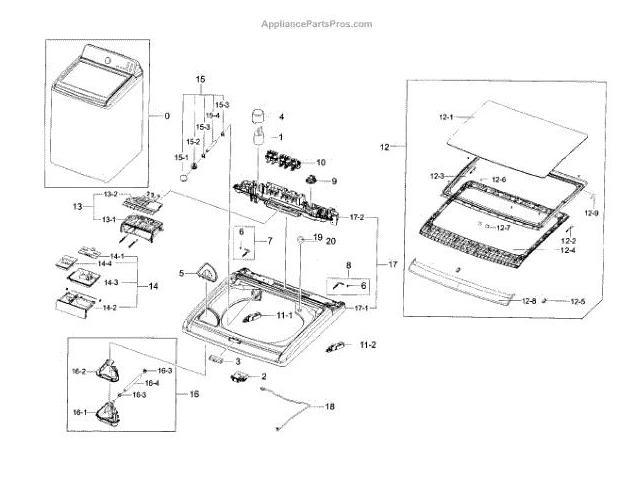 Dc90 14570a Samsung Assy Pin