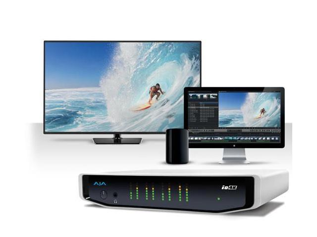 AJA Io 4K 4K and HD I/O for Thunderbolt 2 - Newegg com