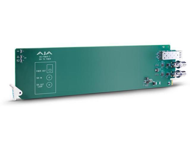 AJA OG-FIBER-T openGear 1-channel SDI to Fiber Converter - Newegg com