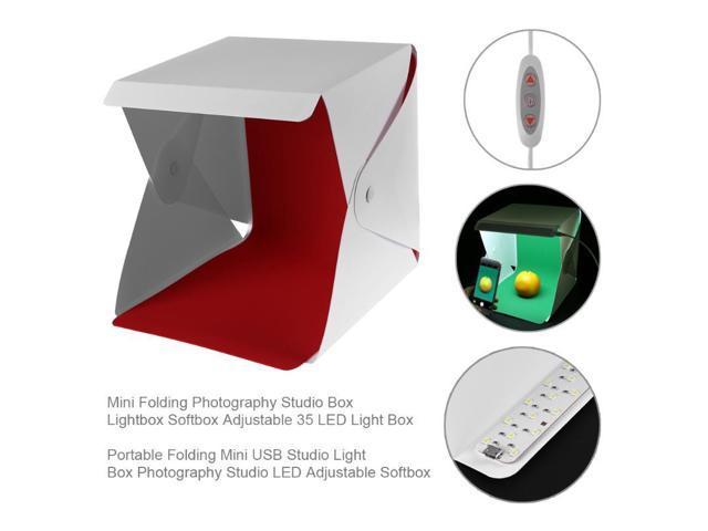 Folding Photography Studio Box Lightbox Softbox Adjustable