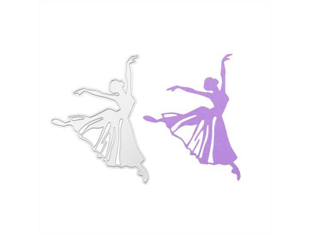 Dancing Girl Cutting Dies Stencil DIY Scrapbook Album Paper Card Embossing Craft