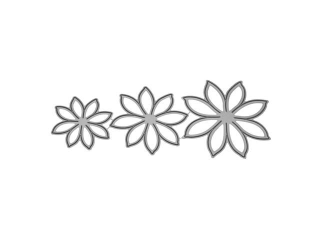 Cutting Dies Multilayer Flower Stencil Scrapbooking Photo Album Card Embossing