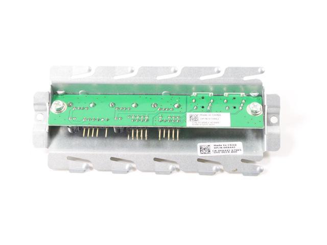 New Original Dell XPS 435T USB Audio I//O Panel Board K644J T496J