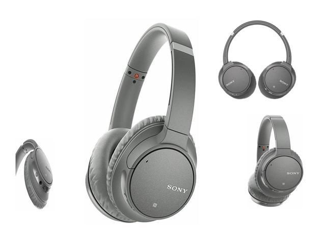 New Sony WH-CH700N Gray Wireless Bluetooth Noise Canceling Over-the-Ear Headphones 027242908734