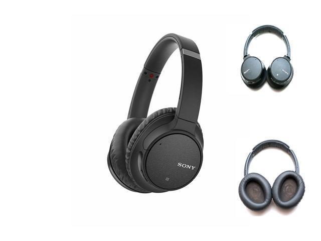 New Black Wireless Bluetooth Noise Canceling Over-the-Ear Headphones For Sony WH-CH700N