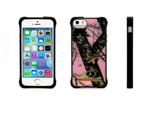 quality design d7bb5 158bf Griffin Survivor Core, Clear Protective Case in Mossy Oak/Pink for iPhone  5/5s Mil-spec case for iPhone 5 & Iphone 5s - Newegg.com