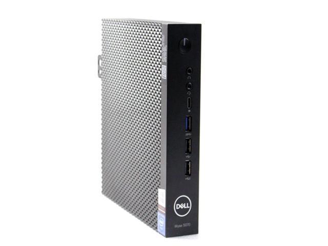 Refurbished: Dell Wyse 5070 Thin Client Intel Celeron J4105 1 50 GHz 4GB  Ram 16GB SSD OS: THINOS 8 5 Ethernet RJ45 & Wifi YWFHX - Newegg com