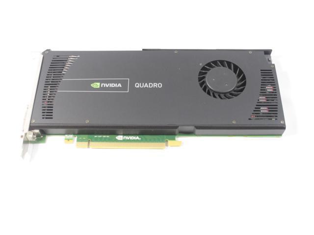 Dell NVIDIA Quadro 4000 2GB PCIe 2.0 x16 GDDR5 Workstation Video Graphics Card