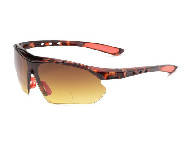 8e1d6b4b0aa7 Readers.com | The Outback Driving Bifocal Reading Sunglasses +1.50  Tortoise/Red with Amber Sport & Wrap-Around Men's & Women's Semi-Rimless  Reading ...