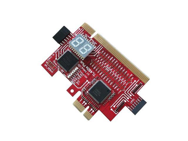 Analyzer Diagnostic LPC-DEBUG Card PCI PCI-E LPC-Debug Post Test Kit  Motherboard(Red) - Newegg com