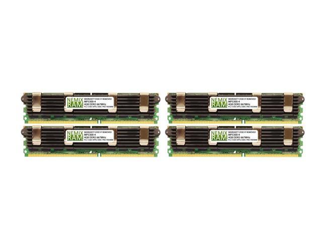 8GB 2X4GB for MA356LL//A A1186 APPLE MAC PRO 1.1,2.1 DDR2 667 Certified Memory