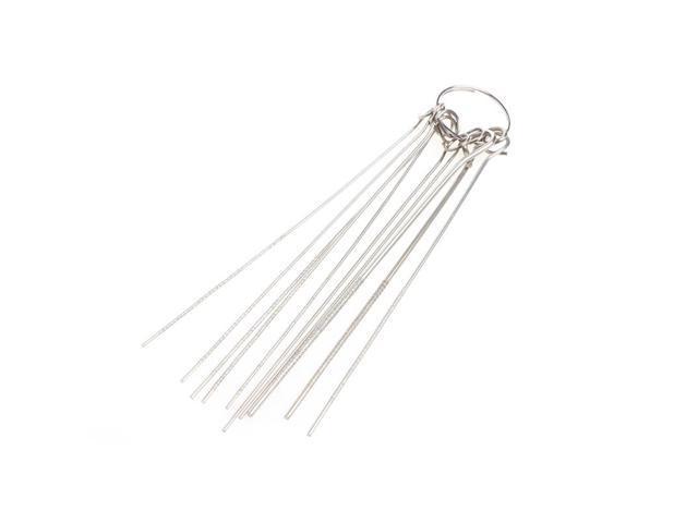 Cher9 10 Kinds St/áinless Steel Needle Set Through Hole Desoldering Welding 0.7-1.3mm