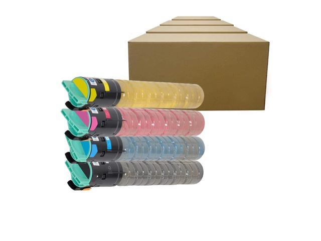 Inktoneram Compatible Toner Cartridges Replacement for Ricoh Aficio MP  C2030 C2050 C2550 841280 841281 841282 841283 ([Black,Cyan,Magenta,Yellow],
