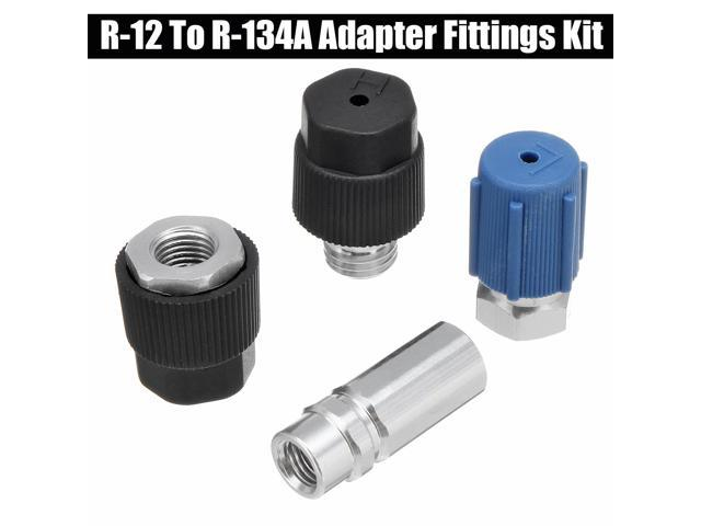 Retrofit Parts Kit R-12 to R-134a All R12 System Conversion Adapter Fittings Kit