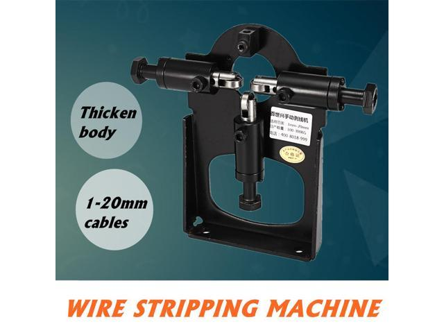 Manual Copper Cable Wire Stripping Peeling Machine Stripper Hand Tool-1-20mm
