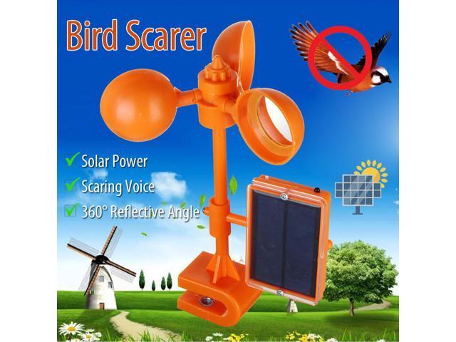 Ultrasonic Solar PIR Sensor Repeller Bird Driving Device Pigeon Crow  Deterrent Repellent Tool - Newegg com