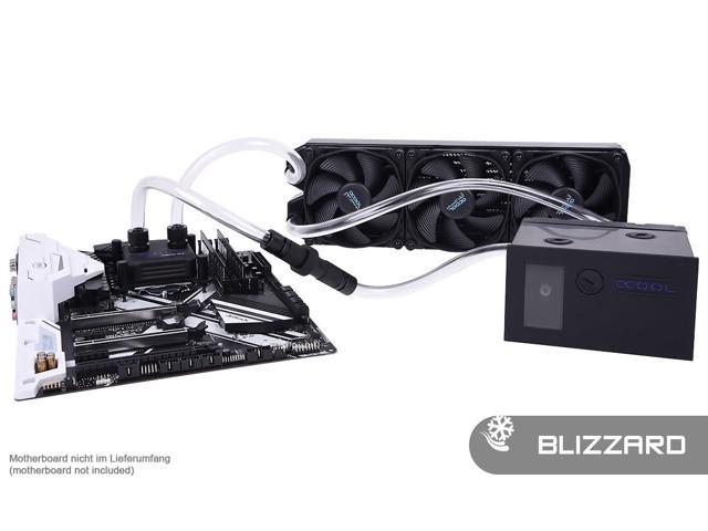 Alphacool Eissturm Blizzard Copper 45 3x120mm - Complete Kit (11473) -  Newegg ca