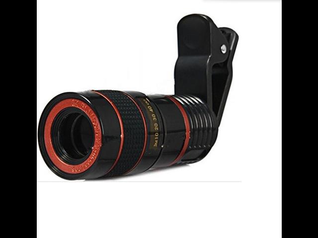 LQ - 007 Universal Clip 8X Prime portable universal mobile phone Telescope Lens for iPhone 6
