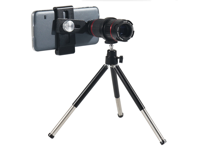 Phone camera lens kit hizek universal optical zoom lens marco