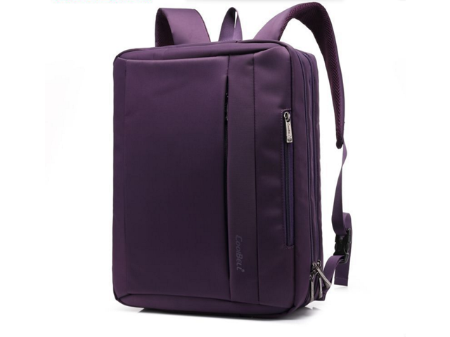3ff4ae4e4458 Coolbell 15.6 inch Multi-function Convertible Laptop Messenger Computer Bag  Single-shoulder Backpack Briefcase