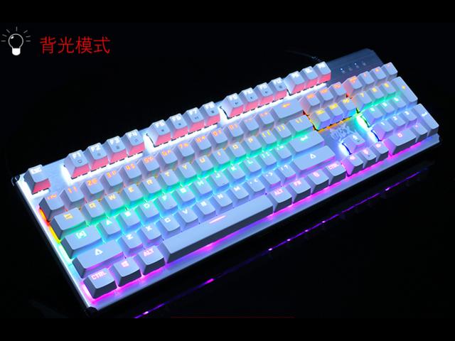 c1d2047468e ZIDLI ck300 USB wired metal green axis Gaming mechanical keyboard  Waterproof Colorful Backlit Professional Gaming Keyboard