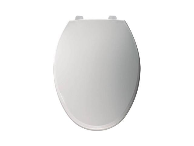 Miraculous Bemis 7B7600T 000 Hospitality White Plastic Elongated Toilet Seat Newegg Com Pdpeps Interior Chair Design Pdpepsorg