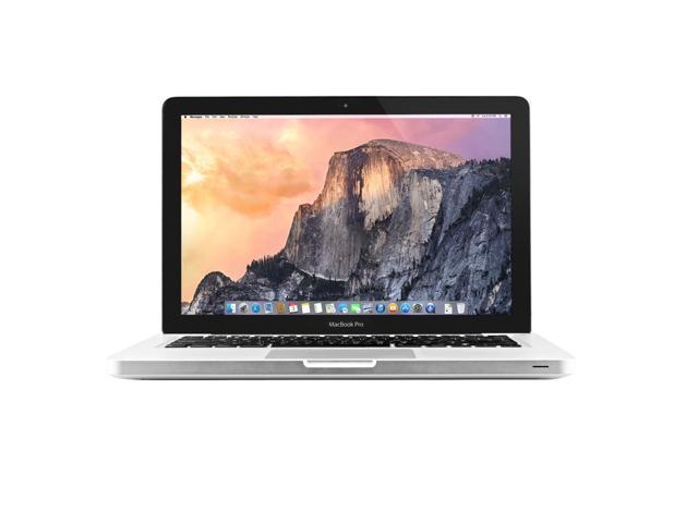 Refurbished: Apple MacBook Pro MacBook Pro A1278 Intel Core i5-3210M X2  2 5GHz 4GB 500GB, Silver - Newegg com