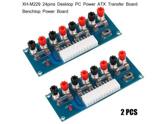 ATX power supply adapter changer module XH-M229 desktop pc board 24pin FDUS