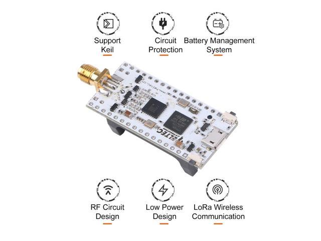 MakerHawk Lora Development Board STM32L151CCU6 + SX1276 Chip 868/915MHZ  LoRaWAN Node Low Power Consumption Support Keil with 1/2AA Lithium Asian