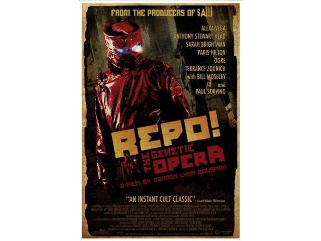 Repo The Genetic Opera Movie Mini Poster 11inx17in (28cm x43cm) - Newegg com
