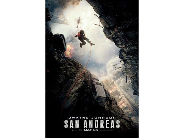 San Andreas Movie Poster 24in x36in