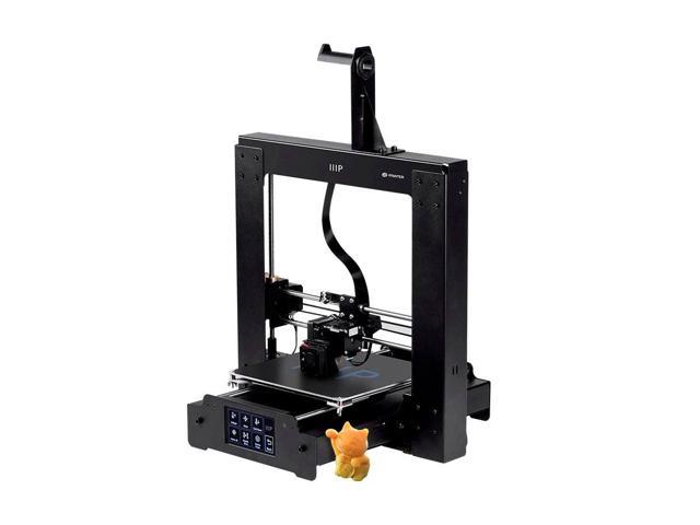 Monoprice Maker Select Plus 3D Printer With Large Heated (200 X 200 X 180  mm) Build Plate, LCD Touchscreen Display + Free Sample PLA Filament And