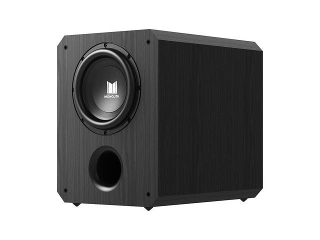 Monoprice Monolith 10 Inch Powered Subwoofer - Black | THX Select  Certified, 500 Watt Amplifier, 10 Inch Driver For Studio & Home Theater -  Newegg ca